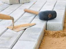 Укладка тротуарной плитки (брусчатки) в Казани